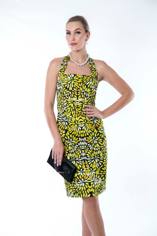 Sunshine Bush Medicine Flowers Strappy Dress