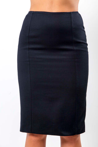 Sigrid Black Cotton Skirt