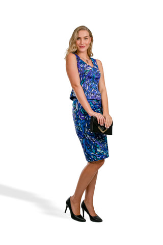 Opal Bush Medicine Leaves Pencil Skirt