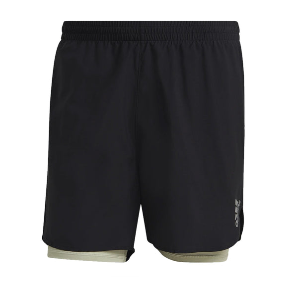 adidas Men's Fast 2-in-1 Primeblue Shorts