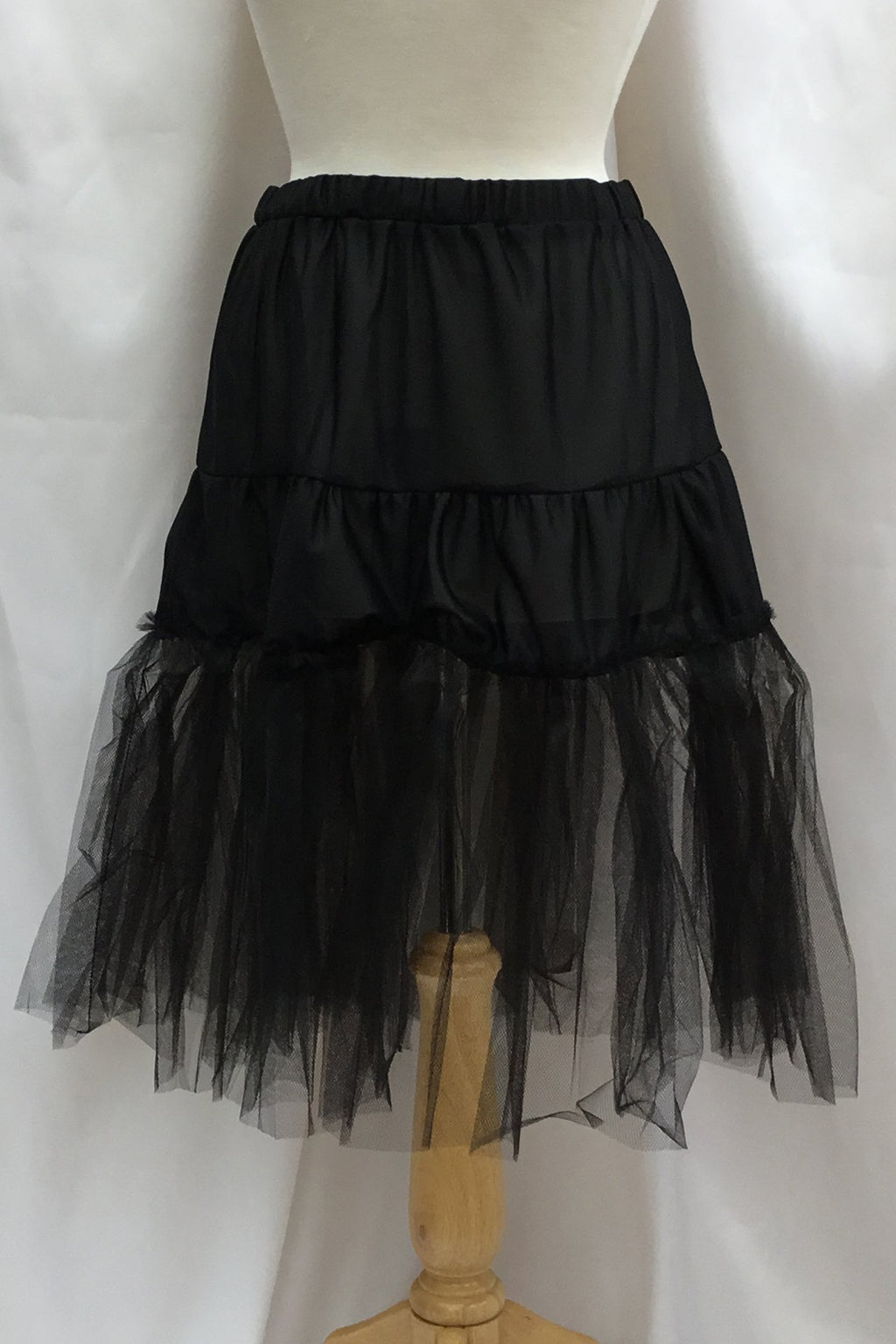 Paris Petticoat Black Timeless by Vanessa Tong