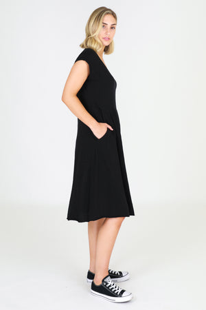 3rd Story Evelyn Dress Black