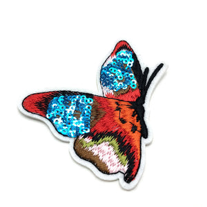 Butterfly Sequin Applique