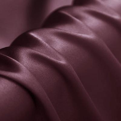 Bean Paste Color Stretch Satin Silk Charmeuse(16 Momme)