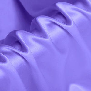 Light Purple Stretch Satin Silk Charmeuse(16 Momme)