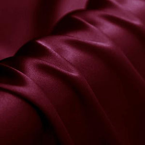 Rouge Silk Crepe Back Satin