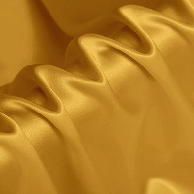 Mud Gold Stretch Satin Silk Charmeuse(16 Momme)