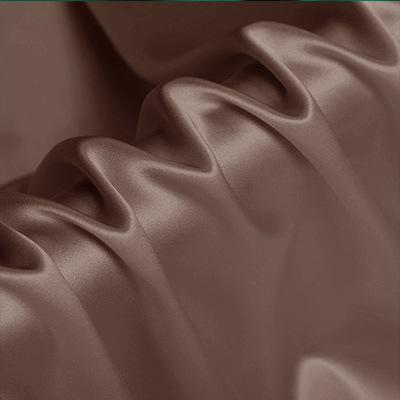 Light Sandalwood Stretch Satin Silk Charmeuse(19 Momme)