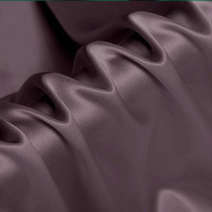 Lotus Root Purple Silk Crepe Back Satin