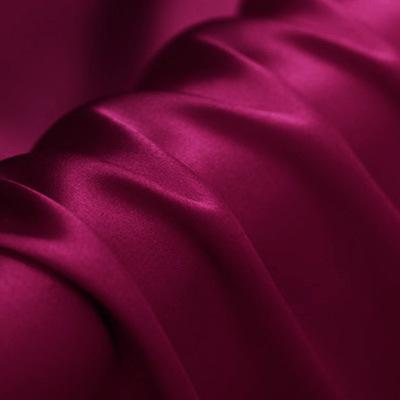 Deep Rose Red Stretch Satin Silk Charmeuse(16 Momme)