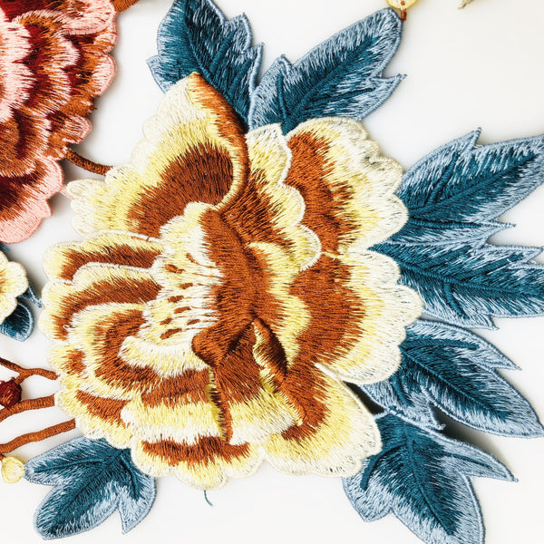 Embroidery Water-soluble Color Applique