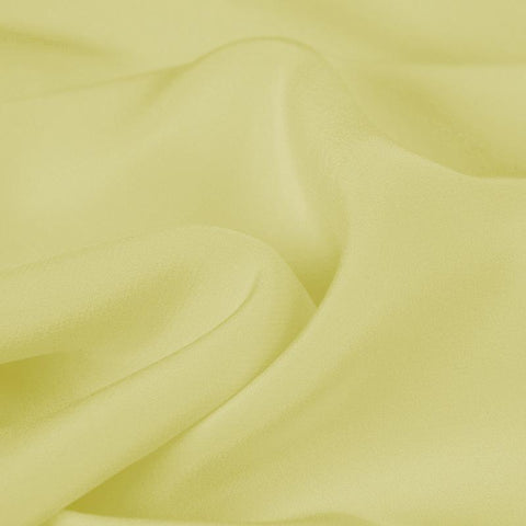 Black Goose Yellow Silk 4-Ply Crepe