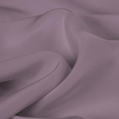 Purple Silk 4-Ply Crepe