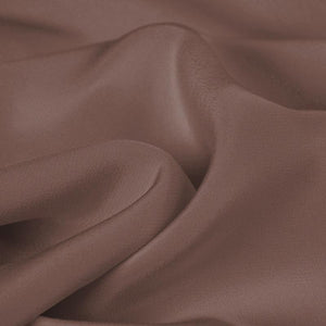 Light Sandalwood Red Silk 4-Ply Crepe