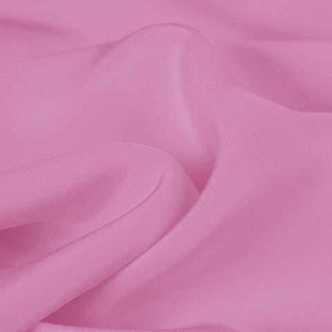 Pink Silk 4-Ply Crepe