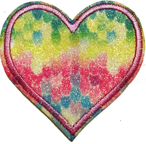 Colorful Love Applique