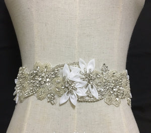 Crystal Diamond Girdle Belt