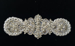 Wheel Petals Rhinestone Bridal Belt
