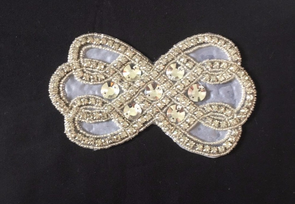 Small Size Twist Beaded Rhinestone Belt Girdle