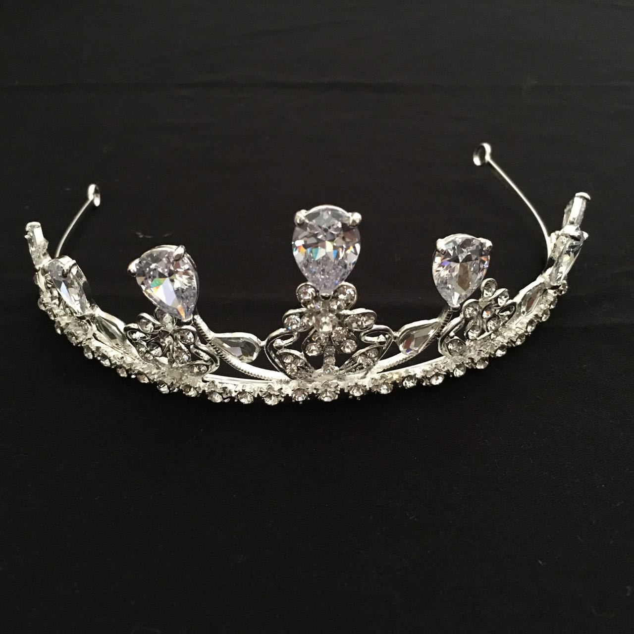 Bridal Zircon Crown Bling Bling Headdress