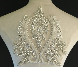 Lace Beaded Rhinestone Clothing