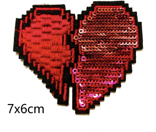 Sequin love Applique