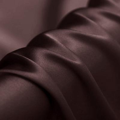 Black Color Stretch Satin Silk Charmeuse(19 Momme)