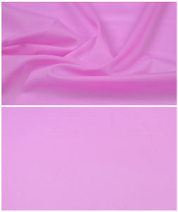 Eggplant Purple Pure Color Silk Chiffon