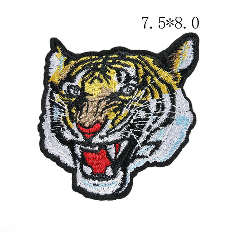 Sew on Tiger Badge Patches