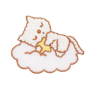Iron On GN Cat&Bear Patches - SUGAR FABRICS