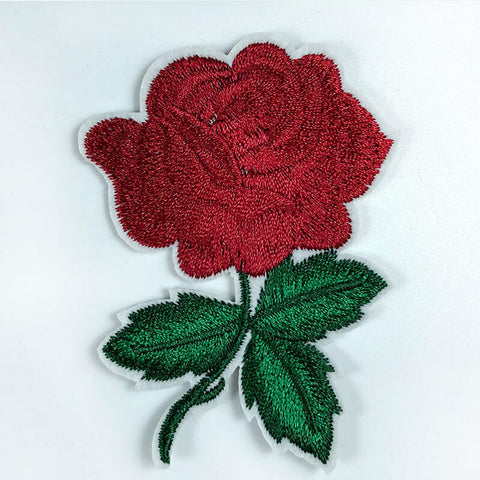 Sew On Rose Flower Patches - SUGAR FABRICS