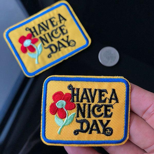 Sew on Flowers Patches
