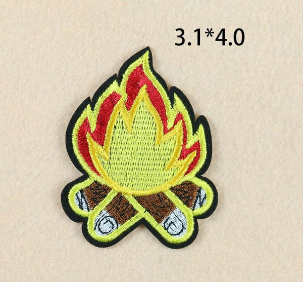 Sew on The Flame Patch