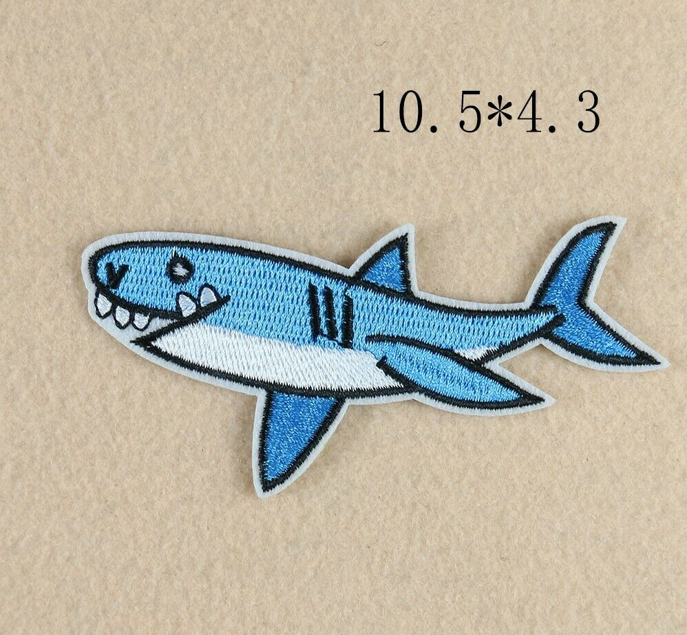 Sew on Dolphin Patches - SUGAR FABRICS