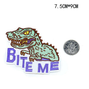 Sew On Dinosaur Patches