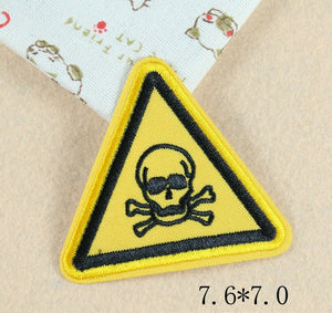 Sew on Warning Sign Patches