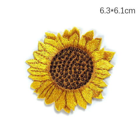 Sew on Sunflower Patches
