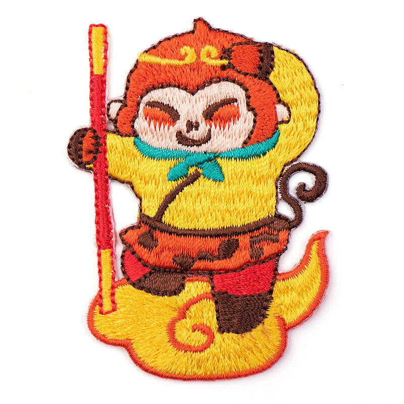Iron On Monkey King Patches - SUGAR FABRICS
