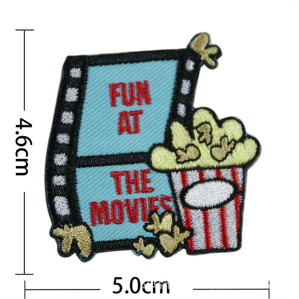 Sewing Movie Patches