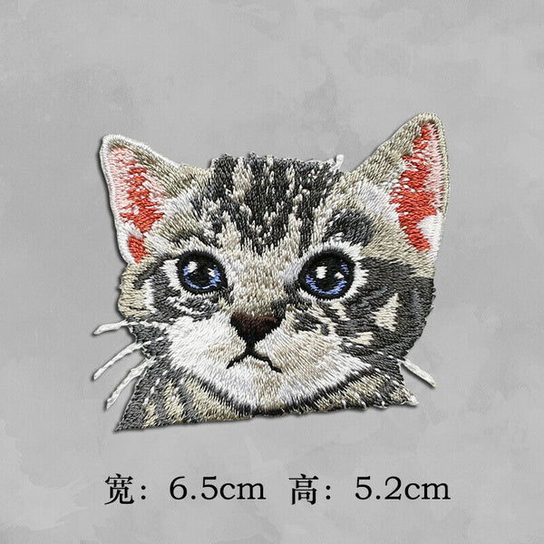 Iron on The Cat Patches - SUGAR FABRICS