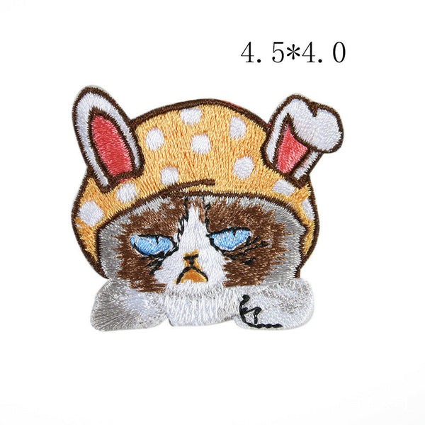 Sew on Cute Animals Patches - SUGAR FABRICS