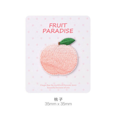 Iron On Color Fruits Patches - SUGAR FABRICS