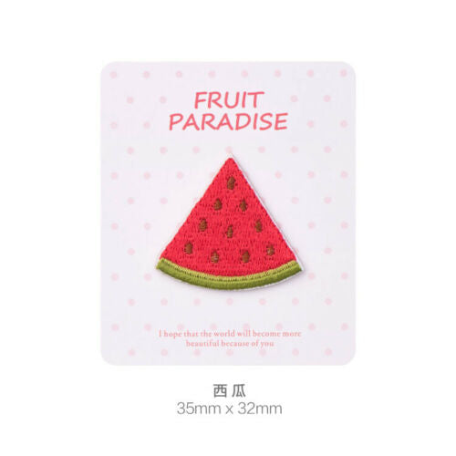 Iron On Fruits Patches - SUGAR FABRICS