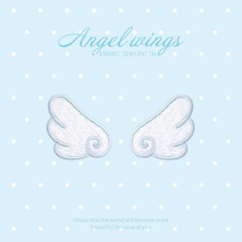 Iron On Angel Wings Patches - SUGAR FABRICS
