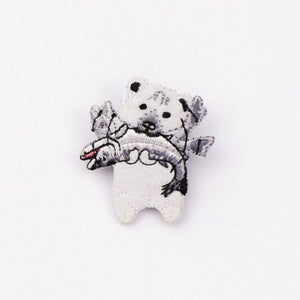 Animal Brooch Pins Badges Carton Patches - SUGAR FABRICS