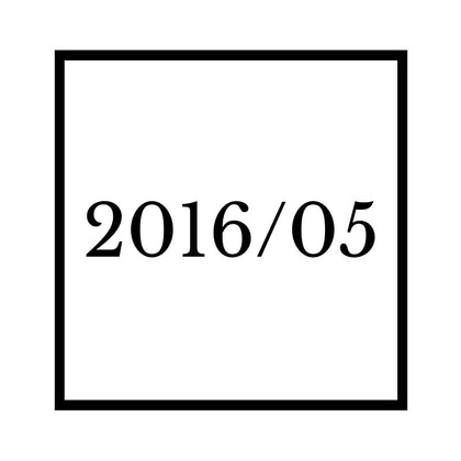 Arrival : 2016/05