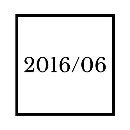 Arrival : 2016/06