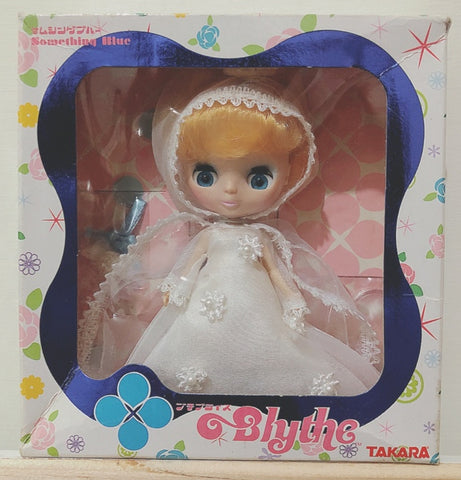 Takara Petite Blythe PBL 33 Something Blue Action Doll Figure