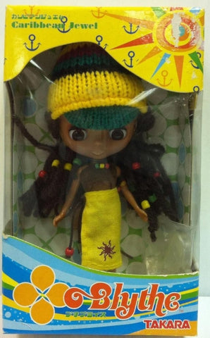 Takara Petite Blythe PBL 35 Caribbean Jewel Action Doll Figure Used