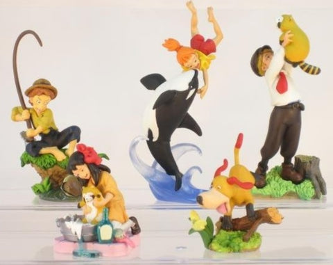 Kaiyodo Movic K&M World Of Masterpiece Theater Series Part 3 5 Trading Figure Set